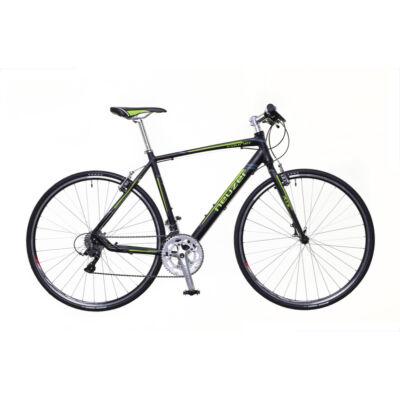 Neuzer Courier DT férfi Fitness Kerékpár fekete/zöld-szürke matt