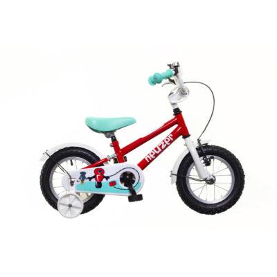 Neuzer BMX 14 fiú Gyerek Kerékpár piros/fehér-türkiz