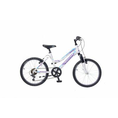 Neuzer Mistral 20 lány Gyerek Kerékpár fehér/lila-türkiz