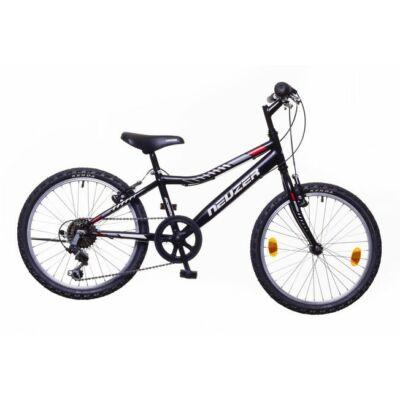 Neuzer Bobby 20 6s fiú Gyerek Kerékpár fekete/szürke-piros