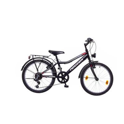 Neuzer Bobby 20 City fiú Gyerek Kerékpár fekete/szürke-piros