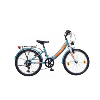 Neuzer Cindy 20 City Gyerek Kerékpár türkiz/fehér-sárga