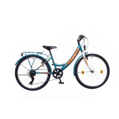 Neuzer Cindy 24 City Gyerek Kerékpár türkiz/fehér-sárga