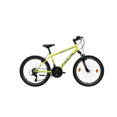 Neuzer Mistral 24 fiú Gyerek Kerékpár neonsárga-kék