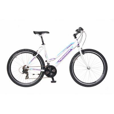 Neuzer Mistral 30 női Mountain Bike fehér/lila-cián