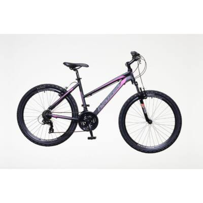 Neuzer Mistral 30 női Mountain Bike fekete/pink- szürke