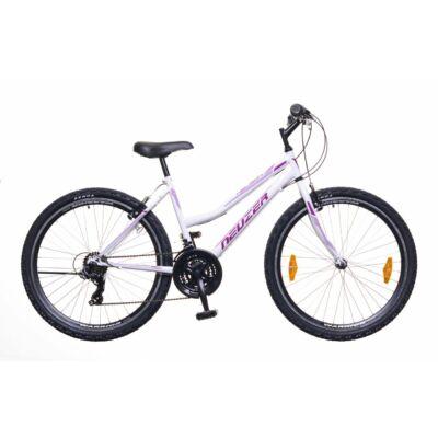 Neuzer Nelson 30 női Mountain Bike fehér/bíbor-mályva