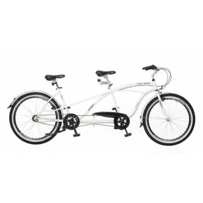 Neuzer Twilight Tandem Kerékpár fehér