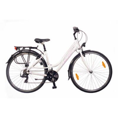 Neuzer Ravenna 50 női Trekking Kerékpár fehér/lila-szürke
