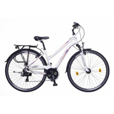 Neuzer Firenze 100 női Trekking Kerékpár fehér/mályva matt