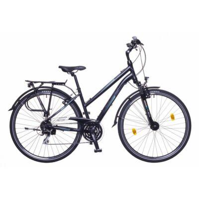 Neuzer Firenze 200 női Trekking Kerékpár fekete türkiz-szürke matt 6964fcf293