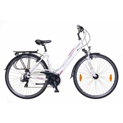 Neuzer Ravenna 100 női Trekking Kerékpár fehér/bordó-szürke