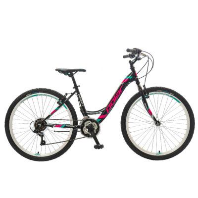 """Polar Modesty LS 26"""" Gyerek Kerékpár fekete-rózsaszín"""