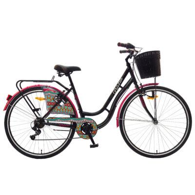 """Polar Grazzia LS 28"""" női City Kerékpár fekete"""
