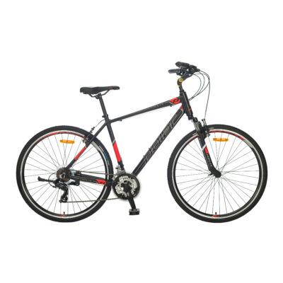 """Polar Helix 28"""" férfi Trekking Kerékpár fekete/piros"""