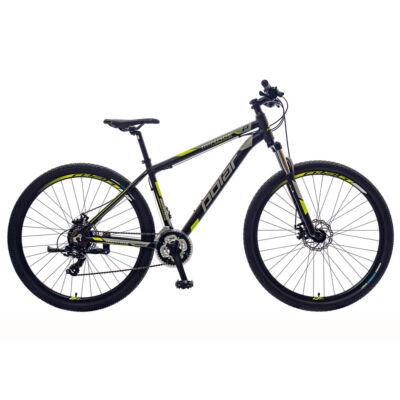 """Polar Mirage Sport SF 29"""" férfi Mountain Bike fekete-szürke-fluo sárga"""