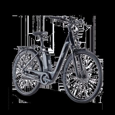 Raymon CityRay E 4.0 CB 2021 női E-bike fekete