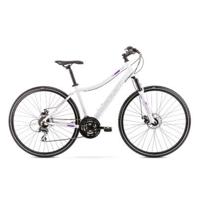 ROMET ORKAN 1 2020 női Cross Kerékpár fehér-lila