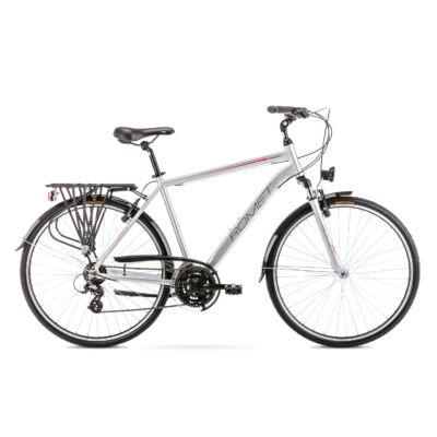 ROMET WAGANT 1 2020 férfi Trekking Kerékpár ezüst-piros