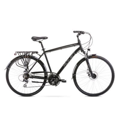 ROMET WAGANT 4 2020 férfi Trekking Kerékpár fekete-fehér