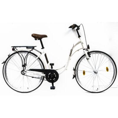 Schwinncsepel VELENCE 28/19 GR 17 női city kerékpár fehér