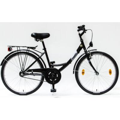Schwinncsepel BUDAPEST A 24-15 GR 2017 női City Kerékpár fekete