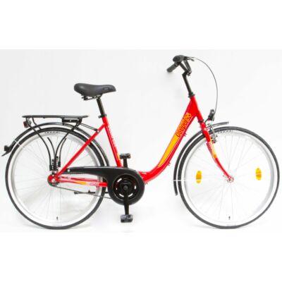 Schwinncsepel BUDAPEST B 26/18 GR 19 női City Kerékpár piros