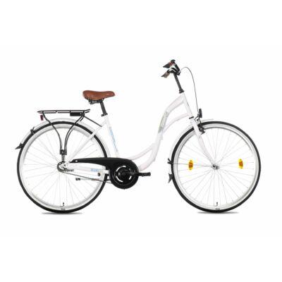 Schwinncsepel  Velence 28/19 GR 21 női City Kerékpár fehér