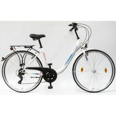 Schwinncsepel BUDAPEST B 28/19 7SP 19 női City Kerékpár fehér