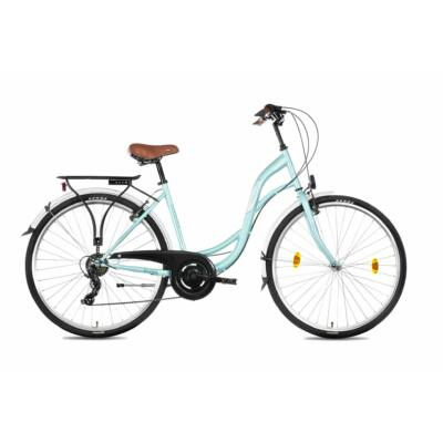 Schwinncsepel Velence 28/19 7SP 21 női City Kerékpár türkiz