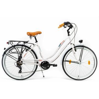 Csepel Cruiser 26/18 Neo 7sp 21 Női Cruiser Kerékpár fehér