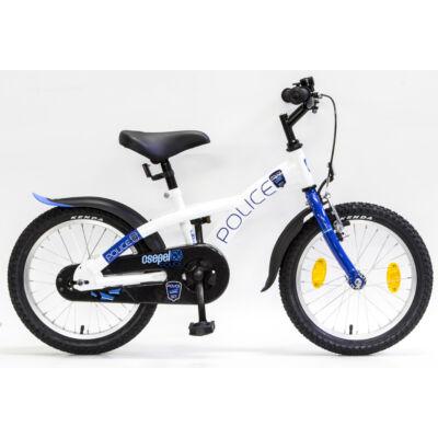 Schwinncsepel POLICE 16 GR 17 Gyerek Kerékpár fehér-kék