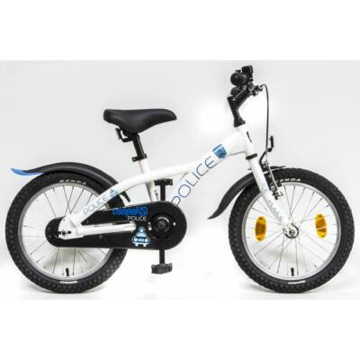 Schwinncsepel POLICE 16 GR 20 Gyerek Kerékpár fehér