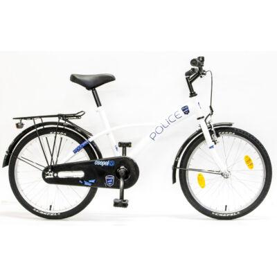 Schwinncsepel POLICE 20 GR 17 Gyerek Kerékpár fehér-kék