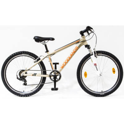 Schwinncsepel WOODLANDS ZERO 24 6SP 18 ALU TELOS Gyerek Kerékpár homok