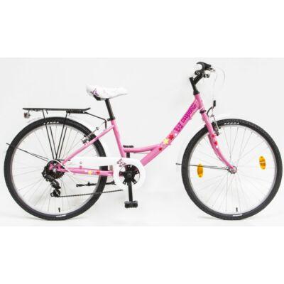 Schwinncsepel FLORA 24 6SP 20 Gyerek Kerékpár rózsaszín