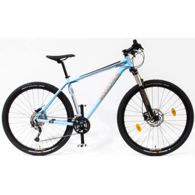 Schwinncsepel WOODLANDS PRO 29 MTB 2.1 27SP férfi Mountain Bike világoskék