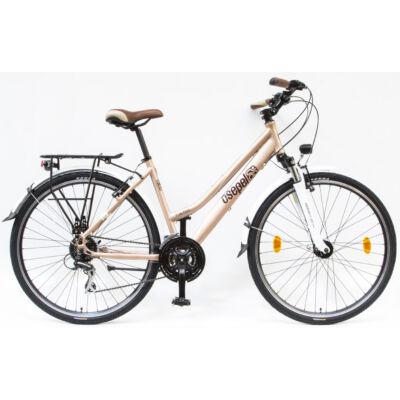 "Schwinncsepel Trc 250 28"" 24sp Agydin 18 Női Trekking Kerékpár matt barna"
