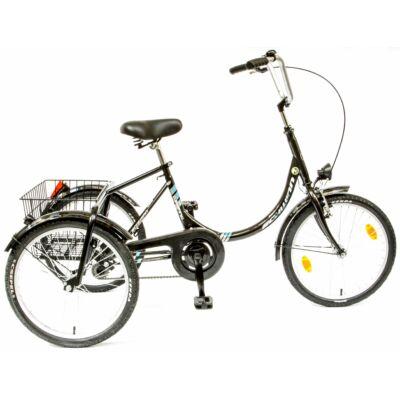Schwinncsepel CAMPING 3 KEREKÜ ACÉL GR City Kerékpár