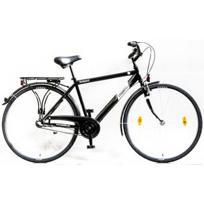 Schwinncsepel BUDAPEST FFI 28/21 N3 2017 férfi City Kerékpár fekete