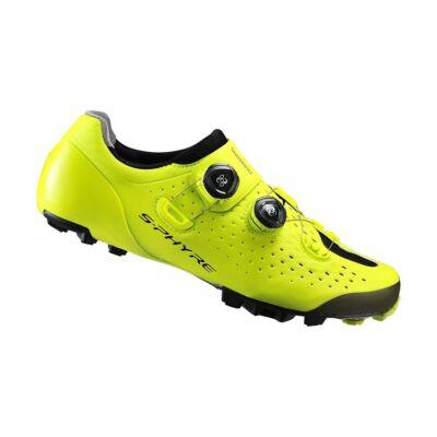 Shimano Cipő MTB XC9 neon sárga