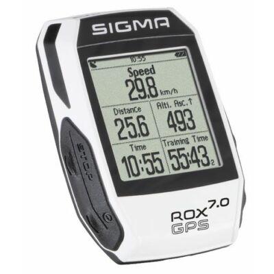 SIGMA Computer ROX 7.0 GPS fehér