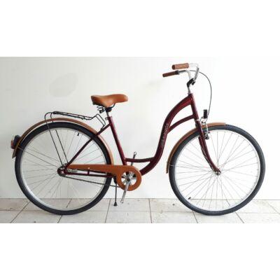Sprint-sirius Classic 26- 28″ női Classic Kerékpár bordó