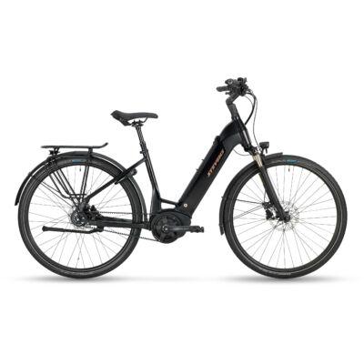 Stevens E-Courier Luxe 2021 női E-bike stealth black