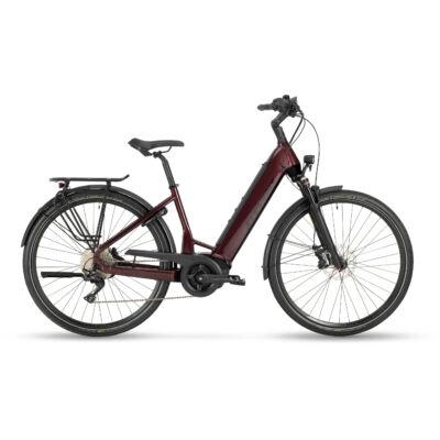 Stevens E-Triton PT6 2021 női E-bike maroon