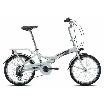 """Torpado T170 Folding 20"""" Összecsukható Kerékpár fehér"""