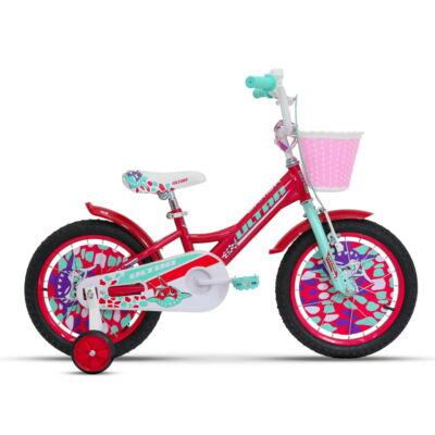 """Ultra Larisa 16"""" Gyerek Kerékpár sötétrózsaszín"""