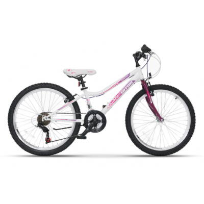 """Ultra Gravita 24"""" Gyerek Kerékpár fehér"""