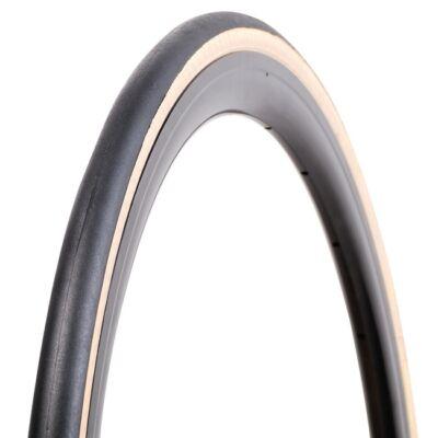 Vee Rubber thaiföldi gumiabroncs kerékpárhoz 23-622 700x23C VRB308 Road Runner, skinwall (fekete/krém oldalfal), hajtogatós