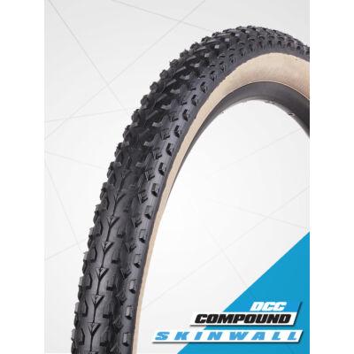 Vee Rubber thaiföldi gumiabroncs kerékpárhoz 54-584 27,5x2,10 VRB 321 MISSION Multiple Purpose Compound, skinwall (fekete/krém oldalfal), drótos